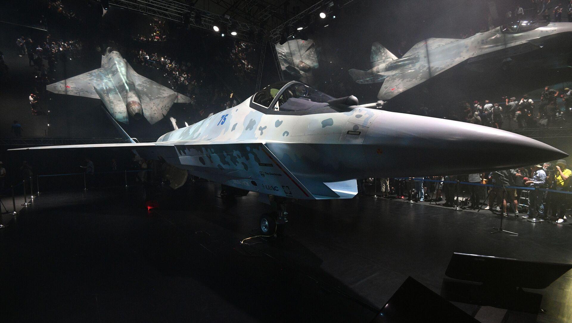 Le chasseur russe Su-75 Checkmate - Sputnik France, 1920, 03.09.2021
