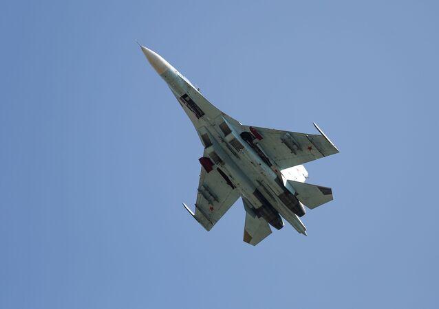 Un chasseur polyvalent Su-27
