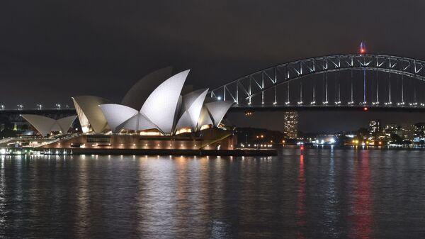 Le port de Sydney, l'Opera House et le Harbour Bridge - Sputnik France