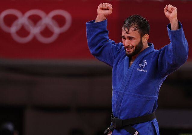 Le judoka Luka Mkheidze