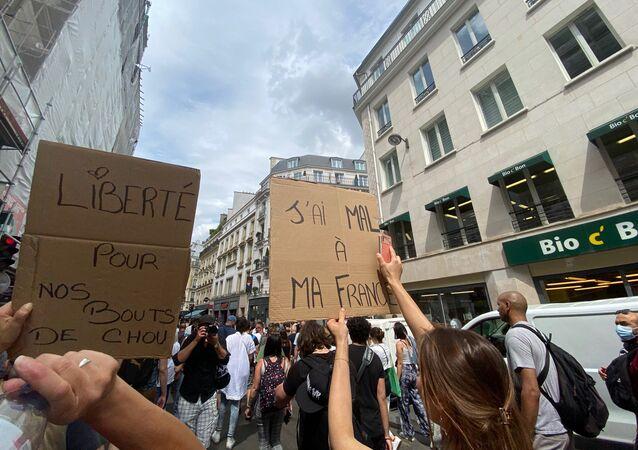 Manifestation contre le pass sanitaire, 24 juillet 2021