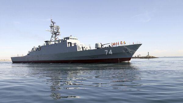 Destroyer iranien Sahand - Sputnik France