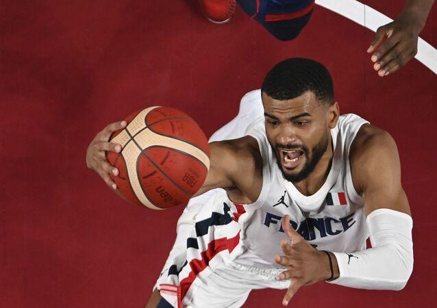 Match France-États-Unis au tournoi olympique de basketball à Tokyo, 25 juillet 2021