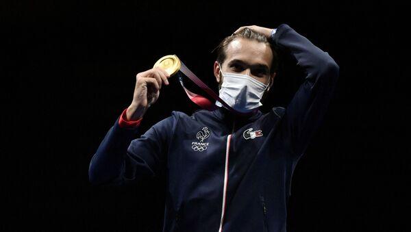 Romain Cannone, premier champion olympique français aux JO 2020 - Sputnik France