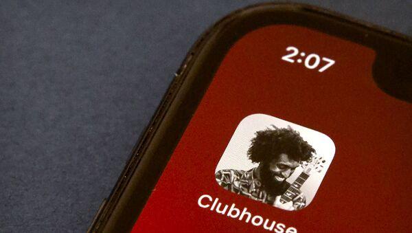 Application Clubhouse (image d'illustration) - Sputnik France