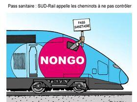 Pass sanitaire: SUD-Rail appelle les cheminots à ne pas contrôler