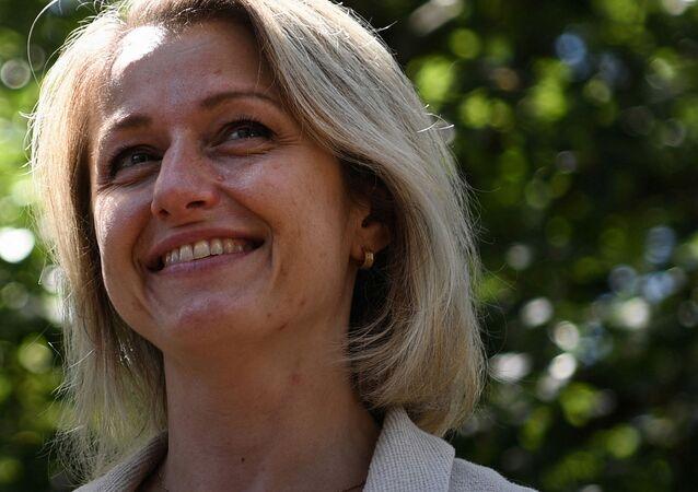 Barbara Pompili, ministre de la transition écologique, 11 juillet 2020 (Anne-Christine POUJOULAT / AFP)