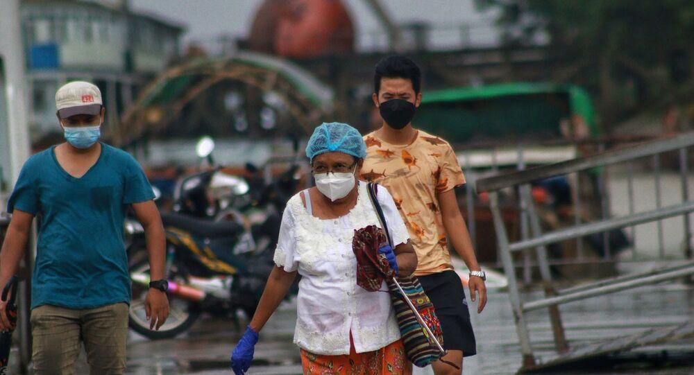 En Birmanie, le 27 juillet 2021
