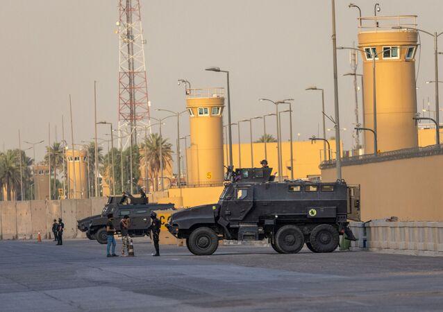 ambassade américaine à Bagdad