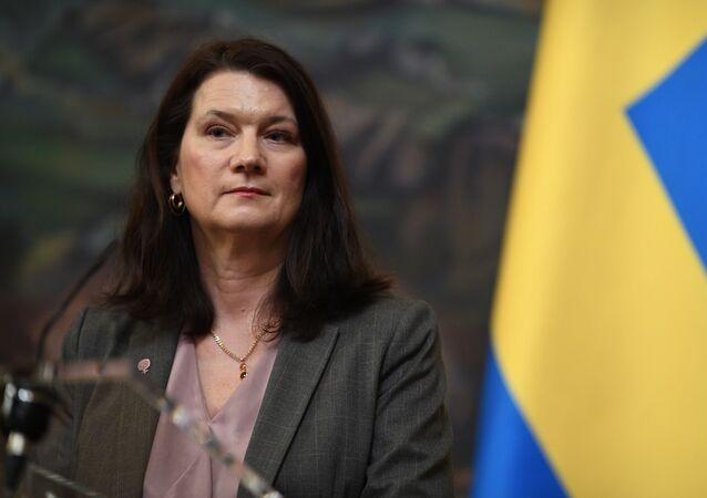 La chef de la diplomatie suédoise, Ann Linde (photo d'archives)
