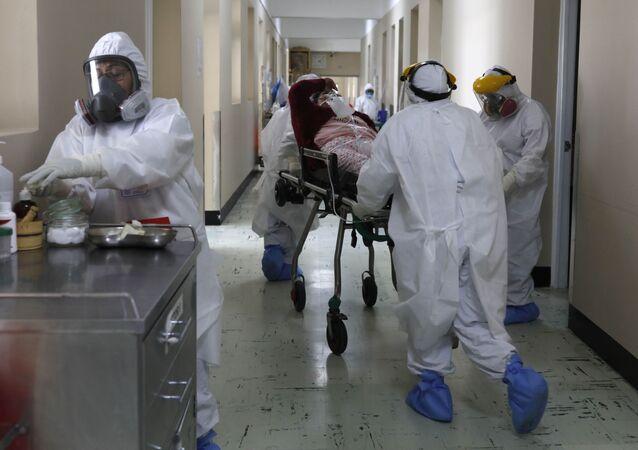 Un hôpital au Pérou