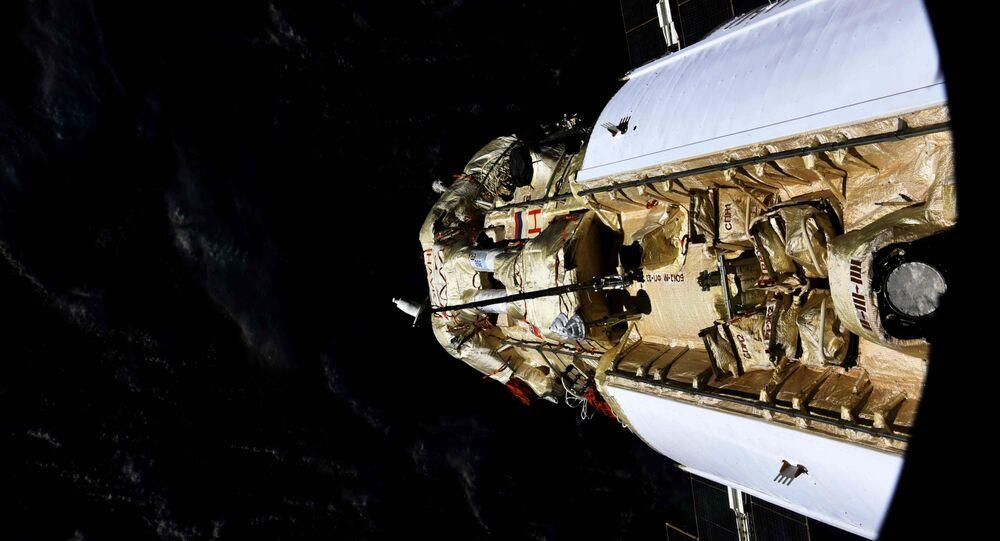 En mode automatique, le module scientifique Nauka s'est arrimé avec succès à l'ISS, le 29 juillet 2021