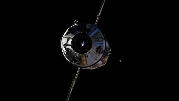Le module scientifique russe Nauka s'arrime à l'ISS, le 29 juillet 2021 - Sputnik France