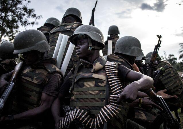 Des soldats des Forces armées de République démocratique du Congo