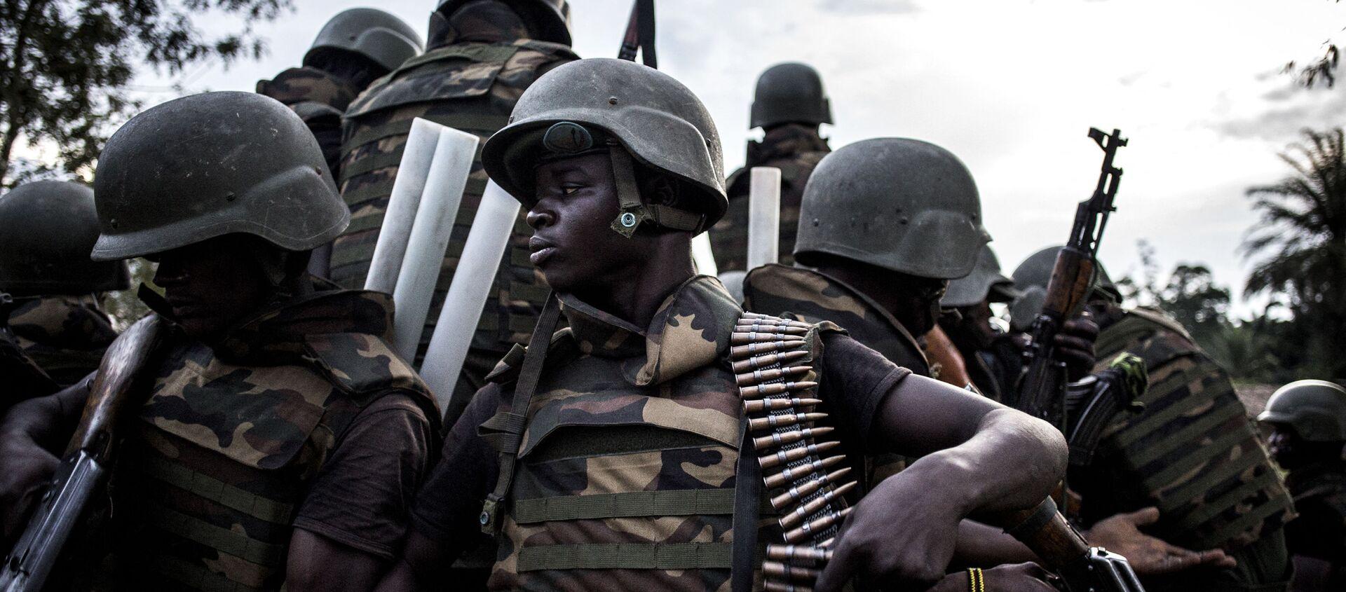 Des soldats des Forces armées de République démocratique du Congo - Sputnik France, 1920, 30.07.2021
