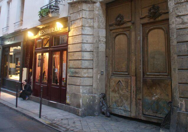 Rue Vieille-du-Temple à Paris (archive photo)
