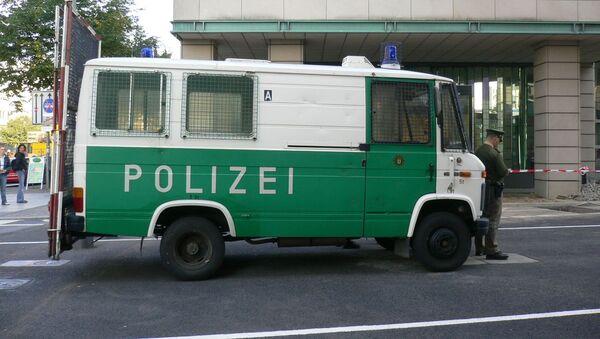 Un véhicule de police à Berlin (image d'illustration) - Sputnik France