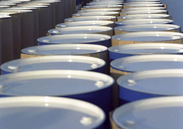 Produits pétroliers russes, image d'illustration