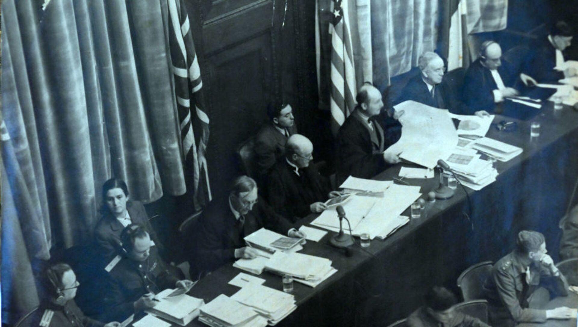 Les juges du Tribunal militaire international - Sputnik France, 1920, 31.07.2021