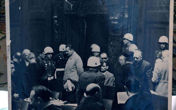 Des prévenus du Tribunal de Nuremberg - Sputnik France