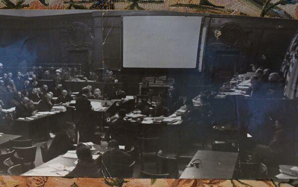 Vue de la salle du Tribunal international - Sputnik France