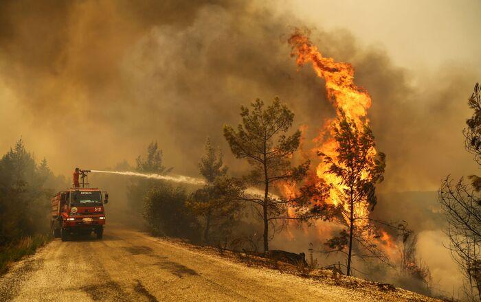 Incendies en Turquie