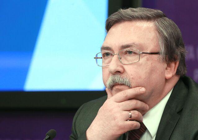 Ambassadeur russe Mikhaïl Oulianov