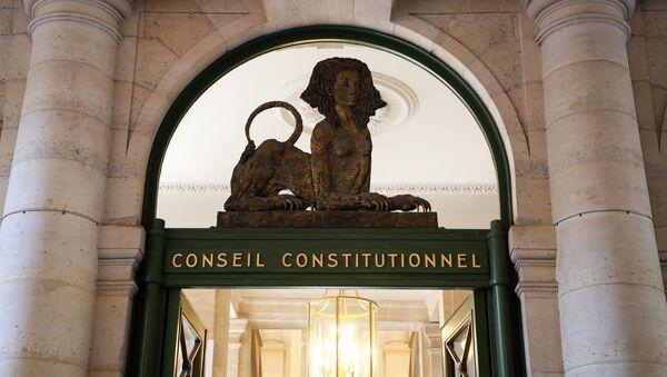 Conseil constitutionnel - Sputnik France