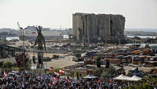 Un an après l'explosion du port de Beyrouth  - Sputnik France
