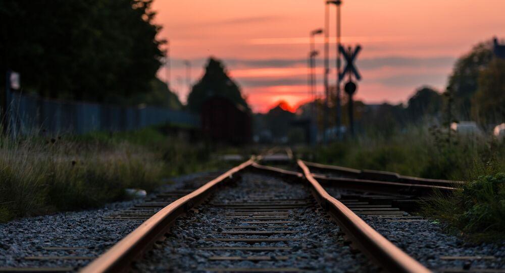 Chemin de fer (image d'illustration)