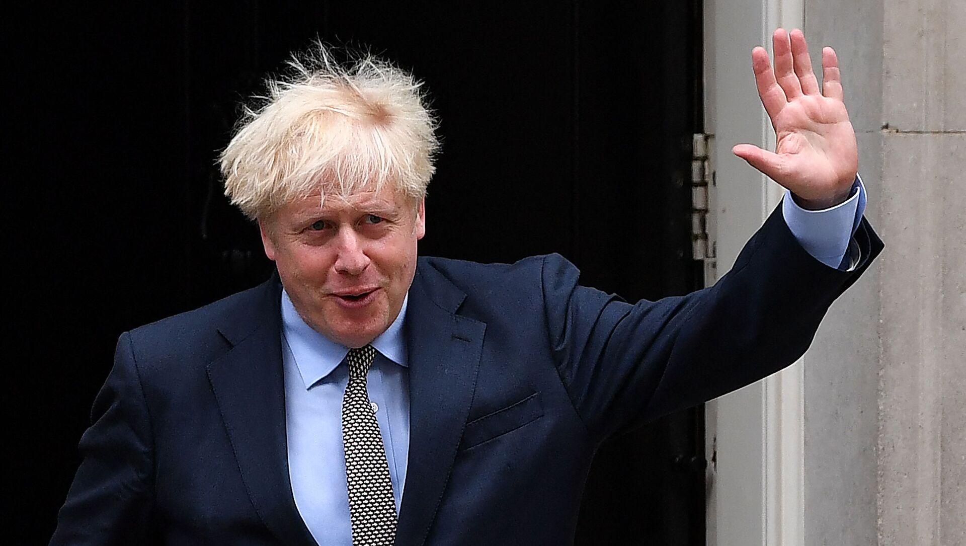 Boris Johnson - Sputnik France, 1920, 22.08.2021