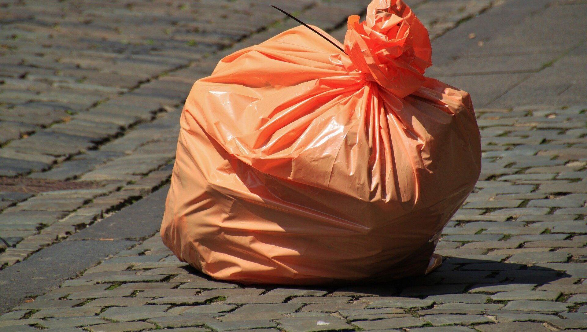 sac de déchets dans la rue - Sputnik France, 1920, 06.08.2021