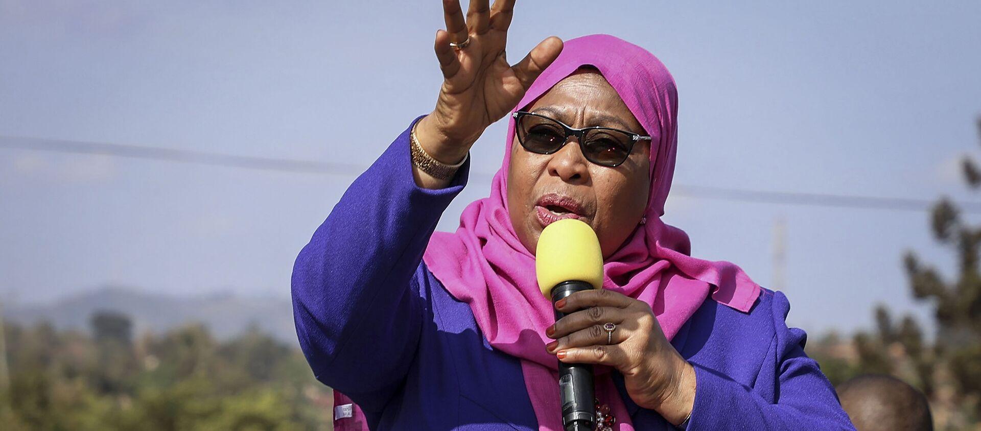 Samia Suluhu Hassan, Présidente de la République unie de Tanzanie - Sputnik France, 1920, 07.08.2021