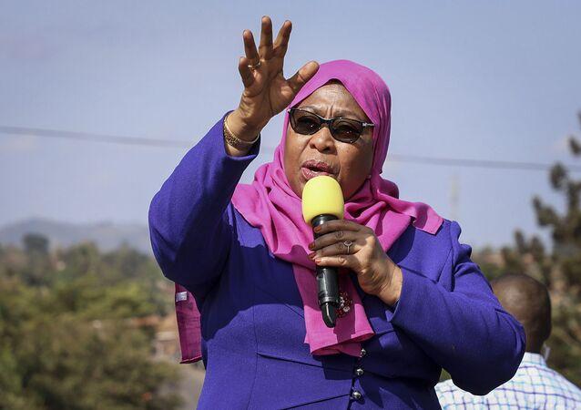 Samia Suluhu Hassan, Présidente de la République unie de Tanzanie