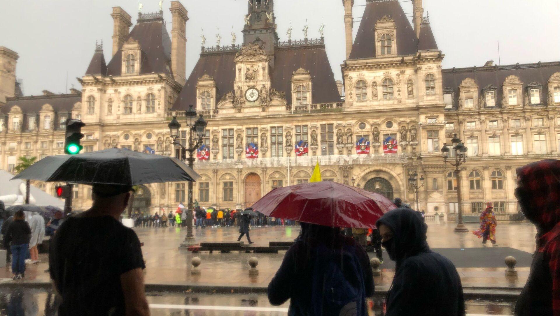 Quatrième week-end de mobilisation à Paris contre le pass sanitaire, 7 août 2021 - Sputnik France, 1920, 09.08.2021