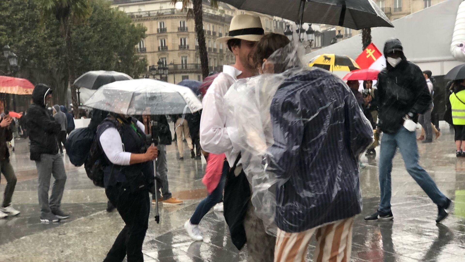 Quatrième week-end de mobilisation à Paris contre le pass sanitaire, 7 août 2021 - Sputnik France, 1920, 08.08.2021