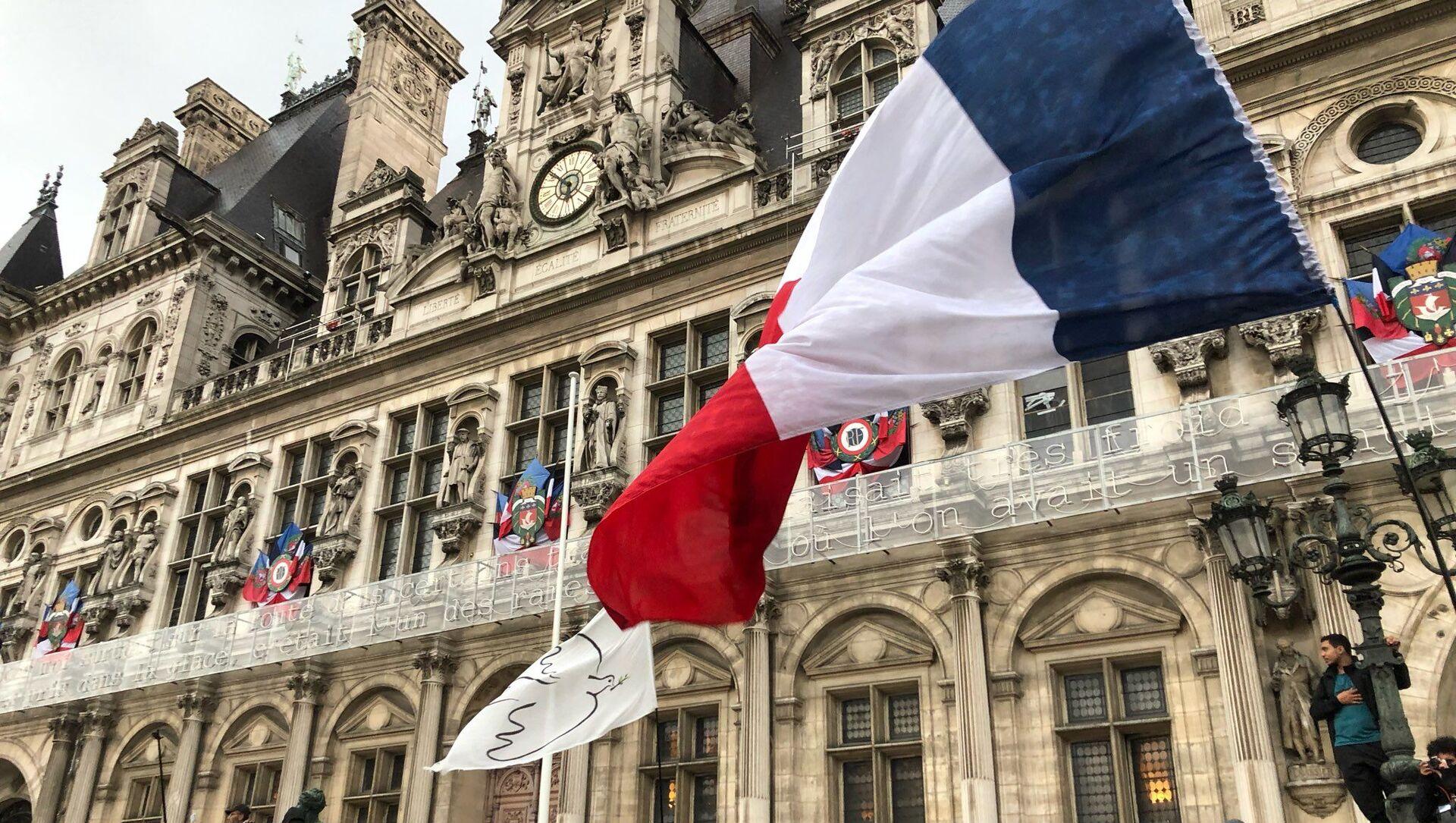 Quatrième week-end de mobilisation à Paris contre le pass sanitaire, 7 août 2021 - Sputnik France, 1920, 01.09.2021