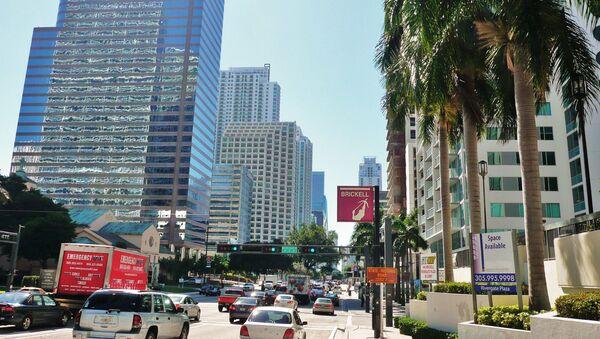 Quartier d'affaires Brickell à Miami, États-Unis - Sputnik France