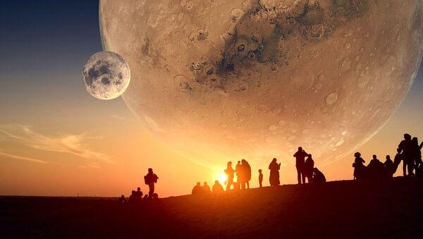 Colonisation de Mars (image d'illustration) - Sputnik France