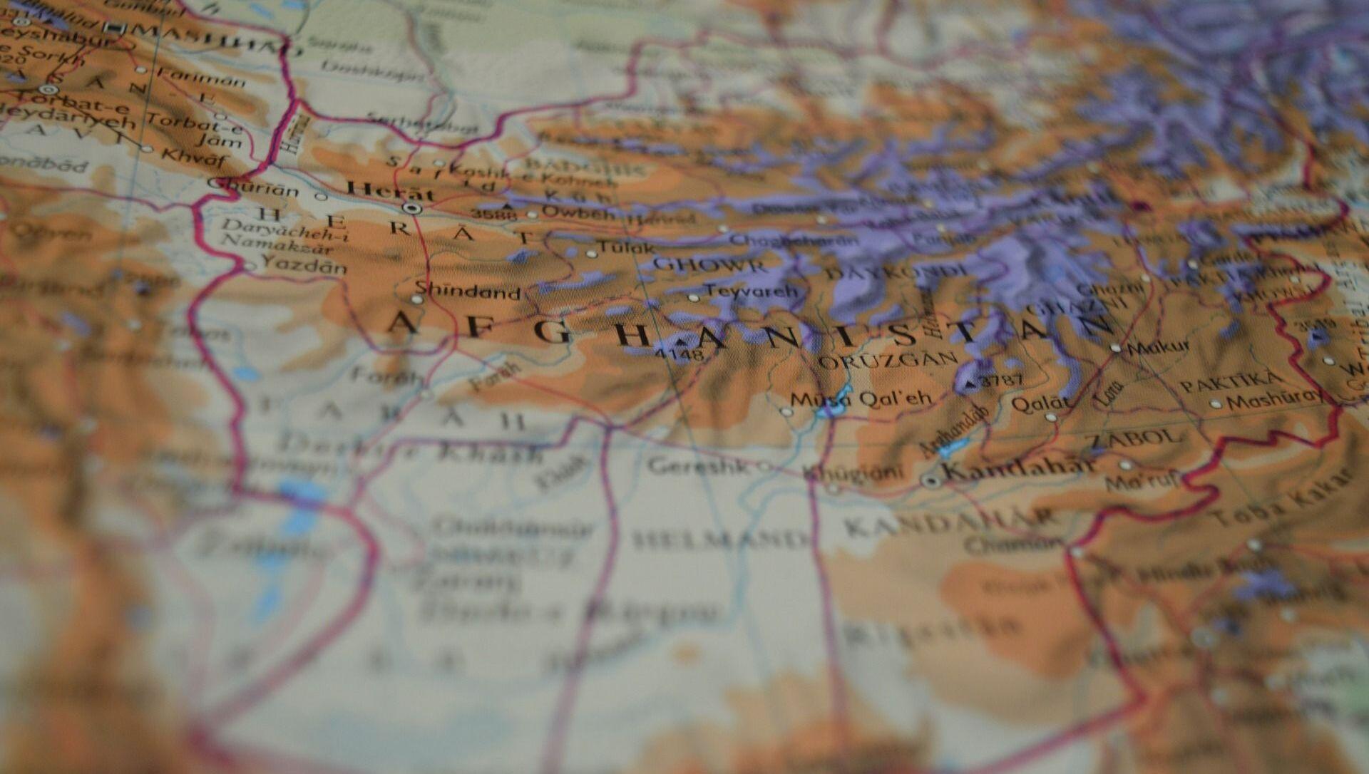 Afghanistan sur la carte - Sputnik France, 1920, 12.08.2021
