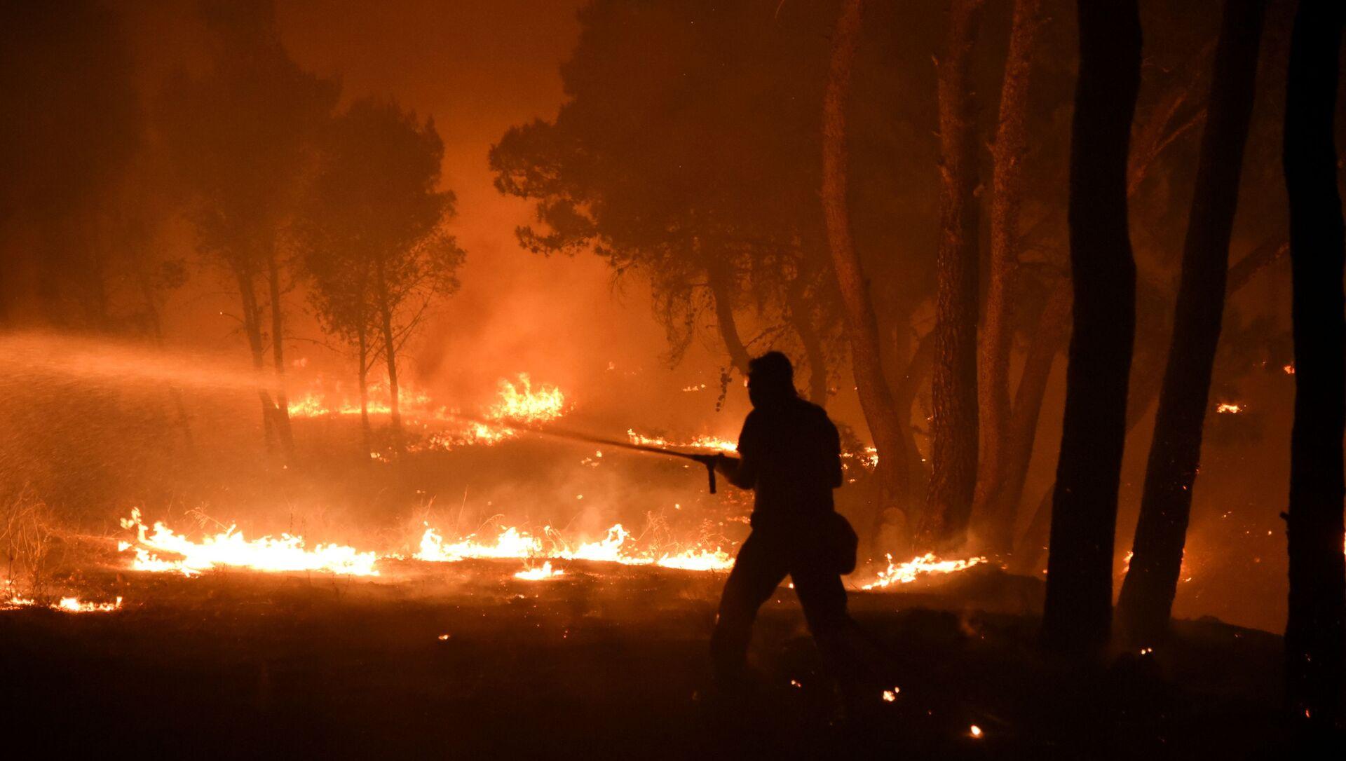 Incendies en Grèce, le 7 août 2021 - Sputnik France, 1920, 16.08.2021