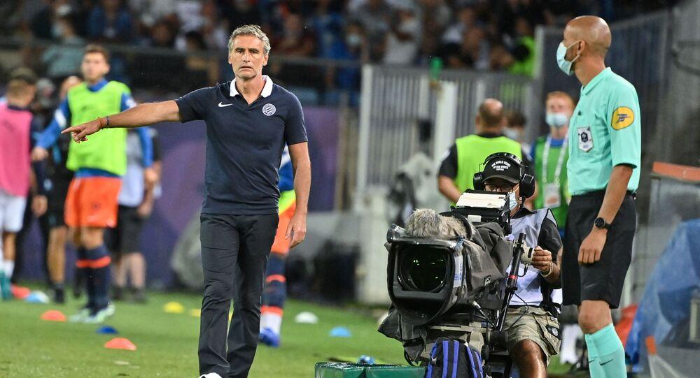 Match de foot Marseille-Montpellier, le 8 août 2021
