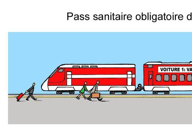 Pass sanitaire obligatoire dans les trains longue distance