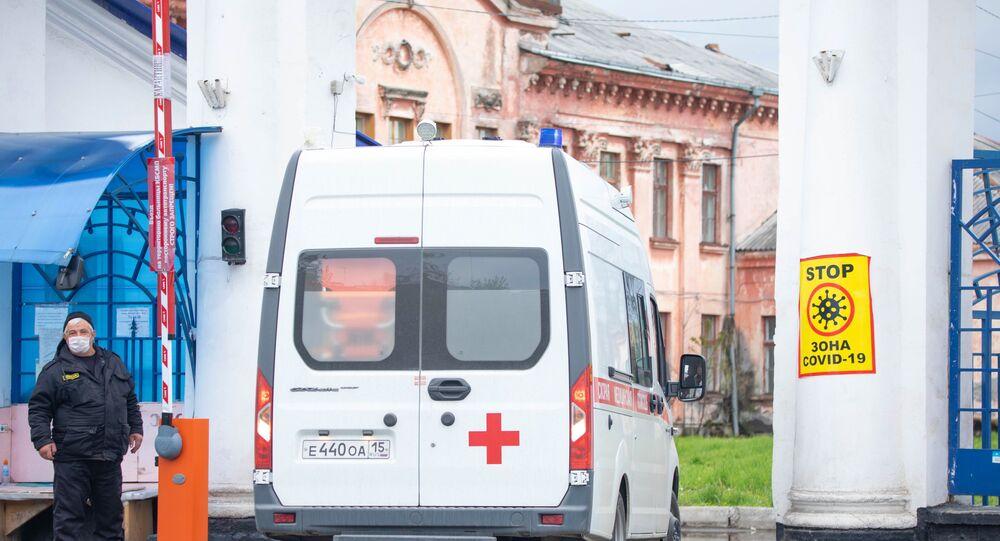 L'hôpital d'aide médicale urgente de Vladikavkaz (archive photo)