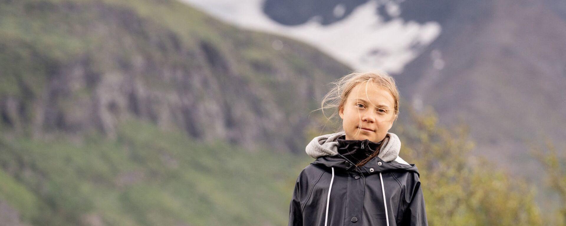Greta Thunberg - Sputnik France, 1920, 10.08.2021