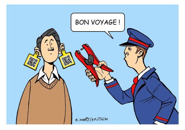 Pass sanitaire: les bracelets distribués par la SNCF font polémique