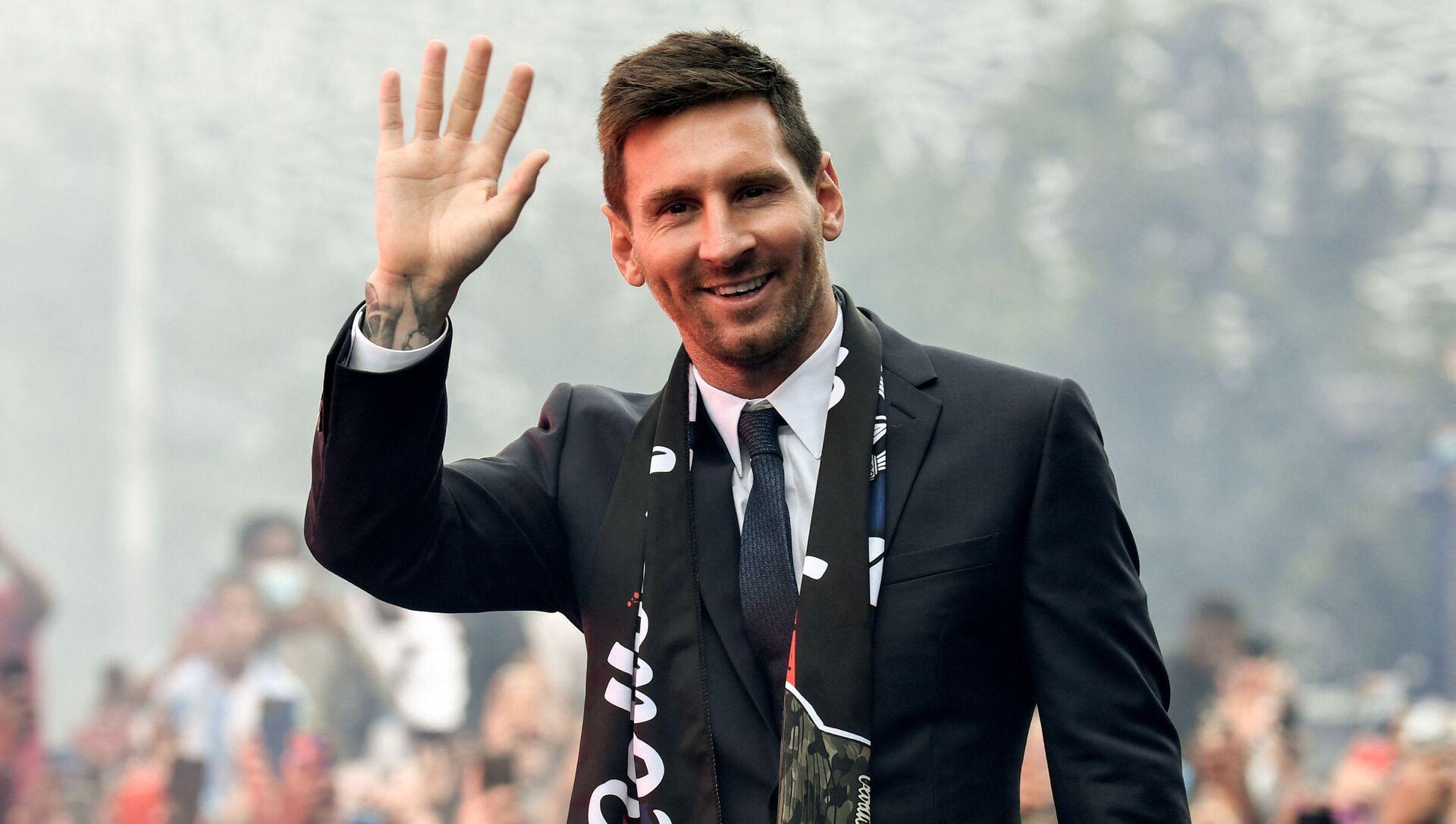 Lionel Messi à Paris, le 11 août - Sputnik France, 1920, 12.08.2021