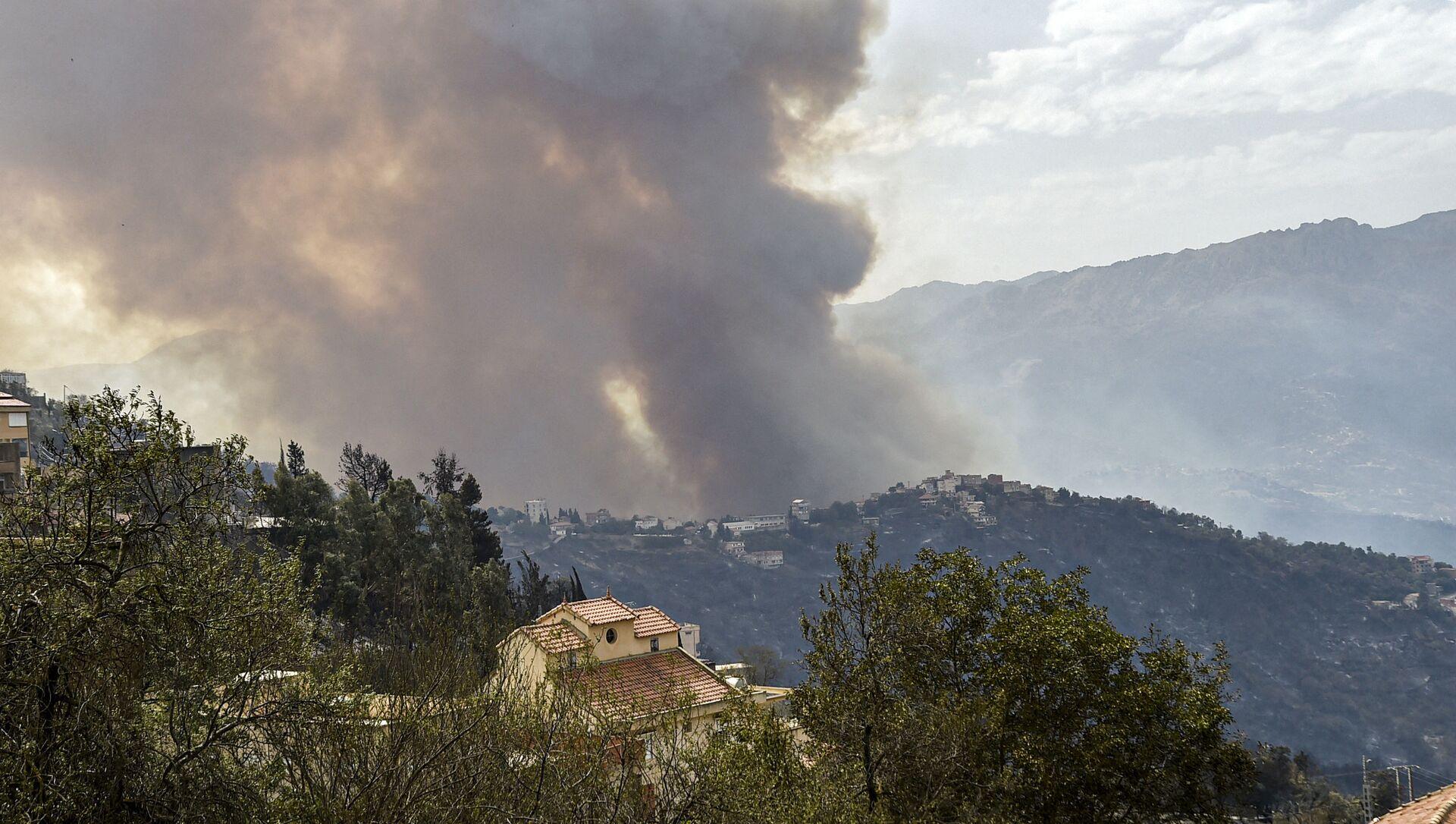 L'Algérie ravagée par des incendies - Sputnik France, 1920, 11.08.2021
