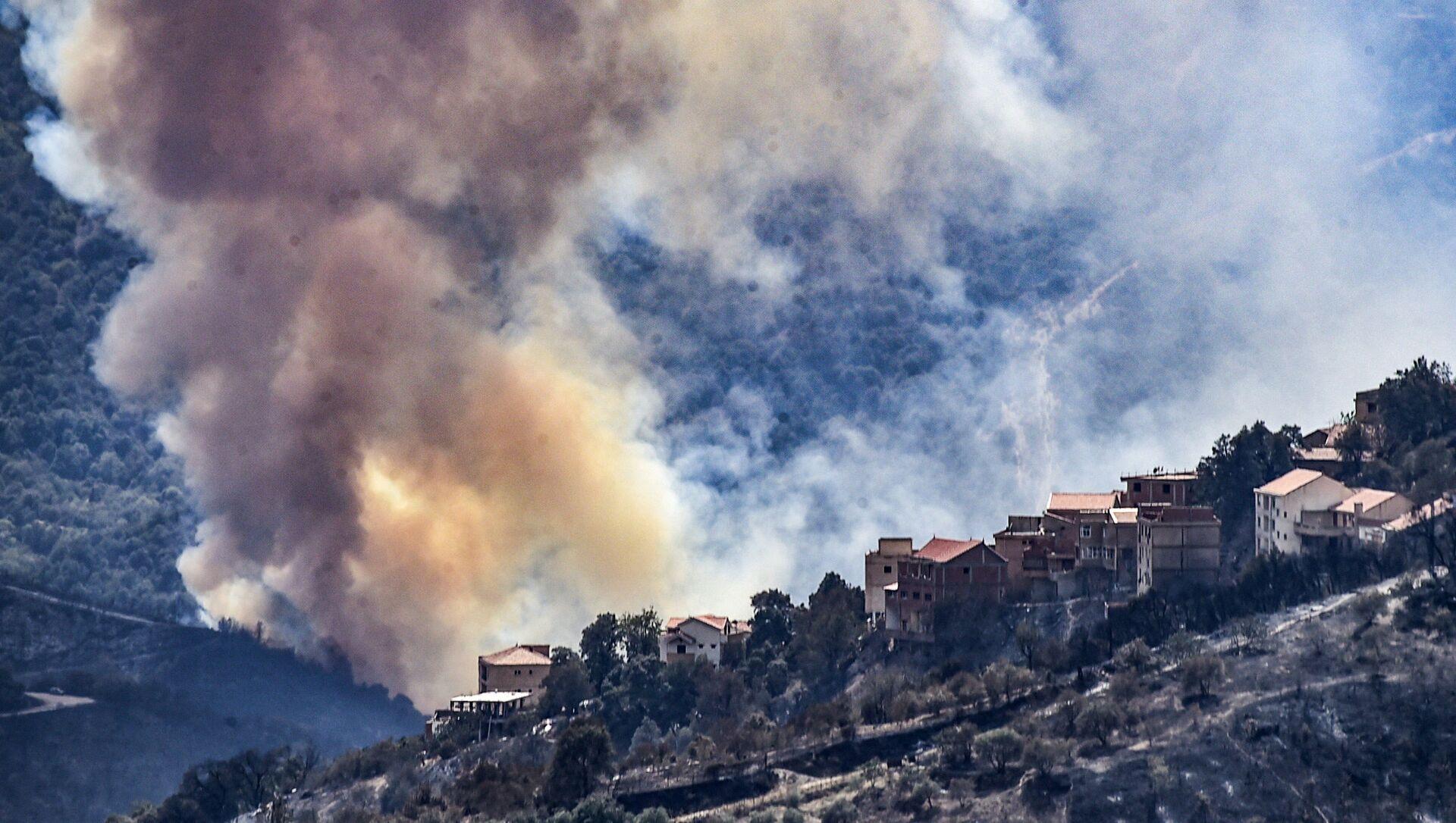 incendies en Algérie - Sputnik France, 1920, 12.08.2021