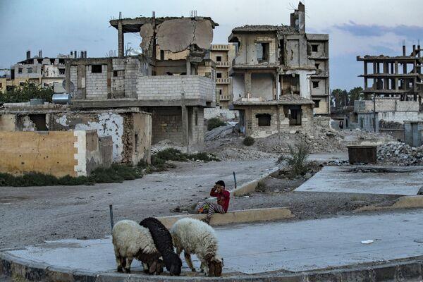 La population a commencé à retourner à Raqqa en 2019. - Sputnik France